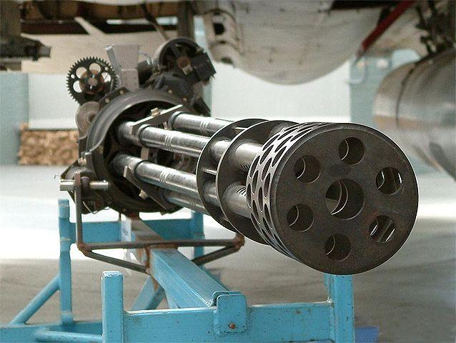 M61 Vulcan Six-barreled Gatling-style rotary cannon cal 20 mm      I