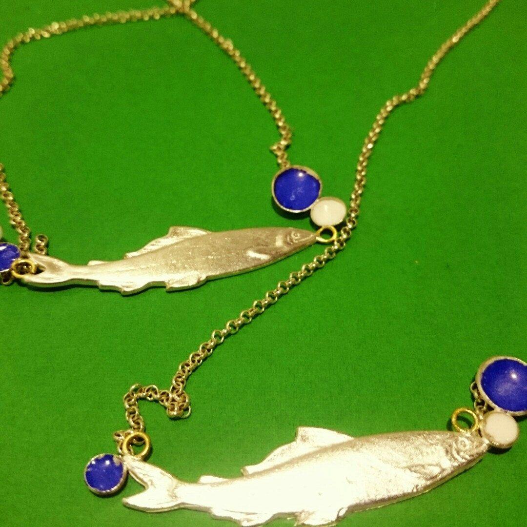 New version piscis necklace! ;)