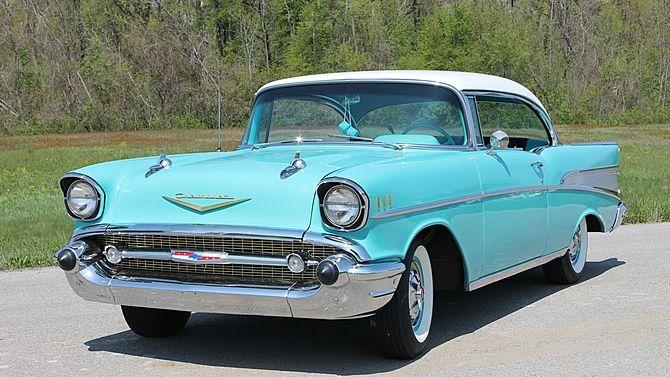 1957 Chevrolet Bel Air Hardtop 283 Ci Powerglide Presented As Lot