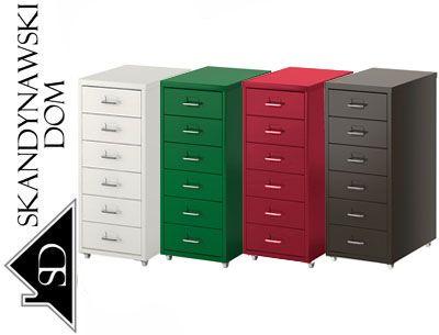 Metalowa Komoda Szafka 6 Szuflad Na Kolkach 5371230037 Oficjalne Archiwum Allegro Filing Cabinet Cabinet Storage