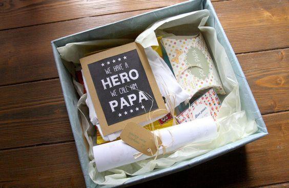 La Boite de Super Papa | Boite a papa, Idée cadeau papa, Futur papa