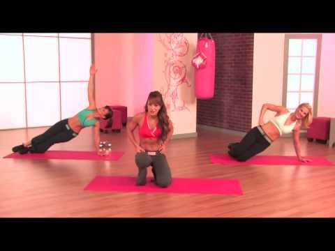 Flirty Girl Fitness - Abs and Booty - YouTube