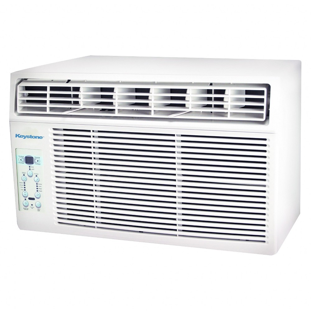 The Keystone 12000 Btu 115v Window Mounted Air Conditioner With Follow Me Remote Control Is Perfect For Cooling A R Home Air Temperature Control In 2019