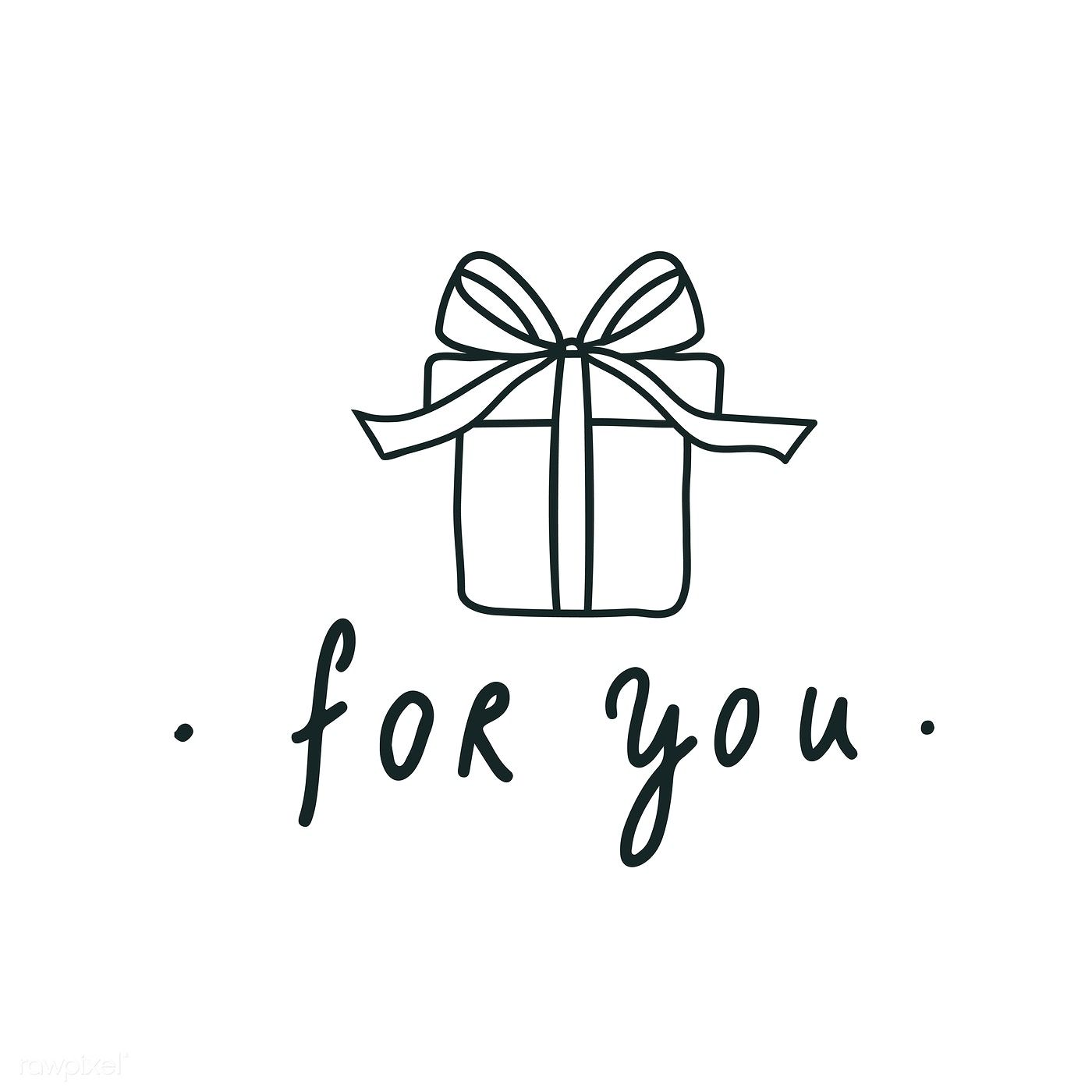 A Surprise Gift Box For You Vector Free Image By Rawpixel Com Surprise Box Gift Gift Logo Logo Gifts