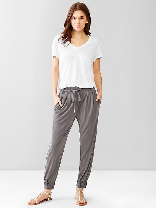 Jersey jogger pants Product Image | my style