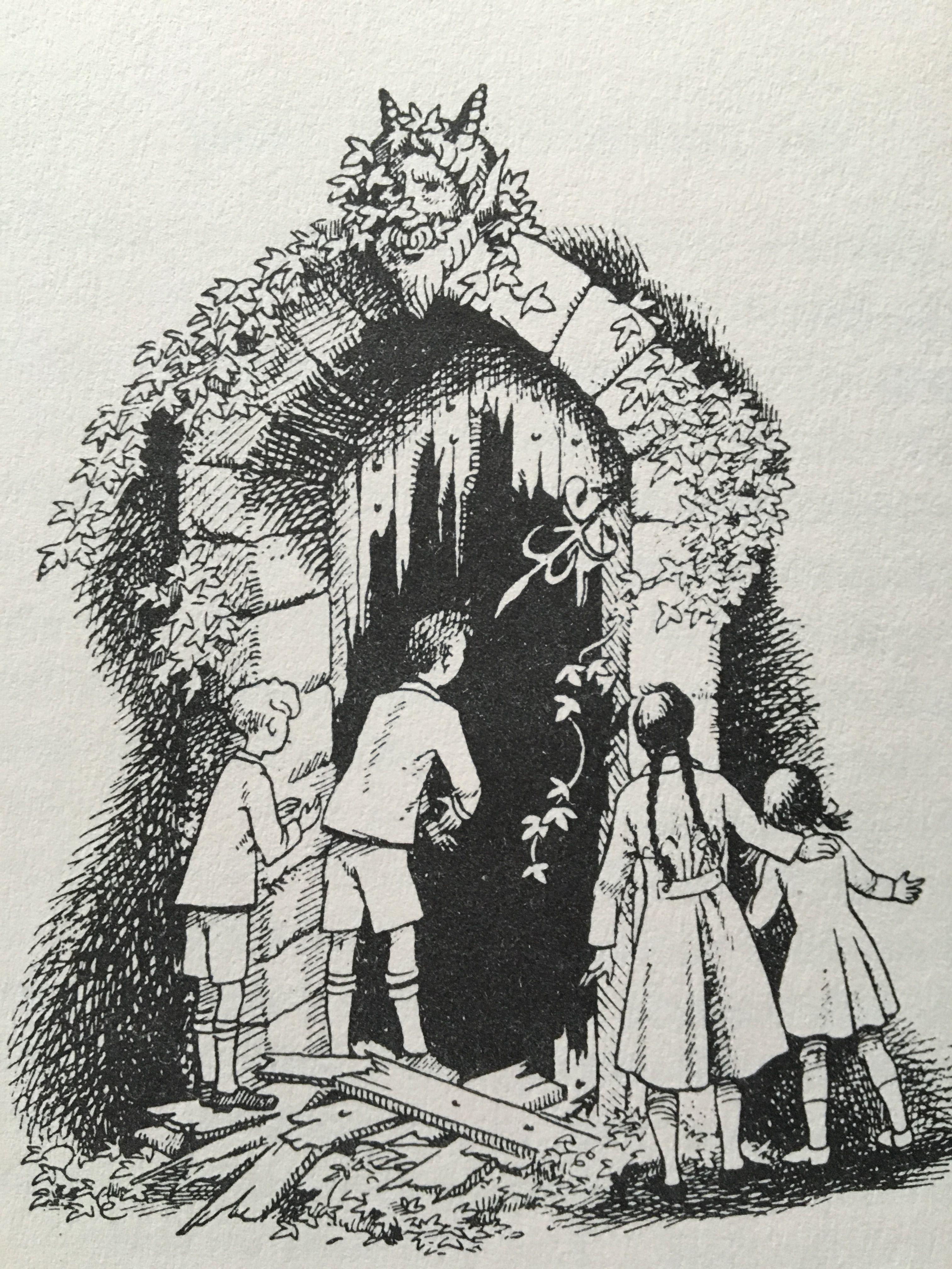 Pauline Baynes illustration from \'Prince Caspian\' | C S Lewis ...