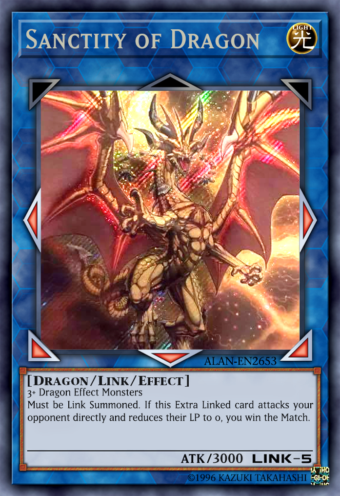 The First Ever Link 5 Monster But Cant Be In A Duel Used Its Only
