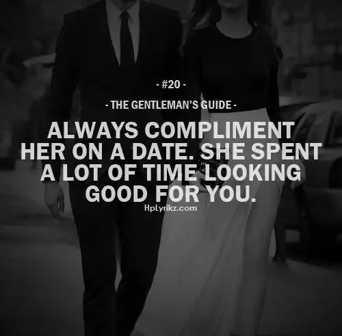 Quotes on dating a gentleman