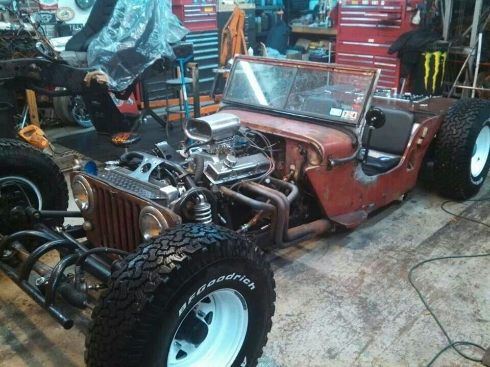 Jeep rat rod
