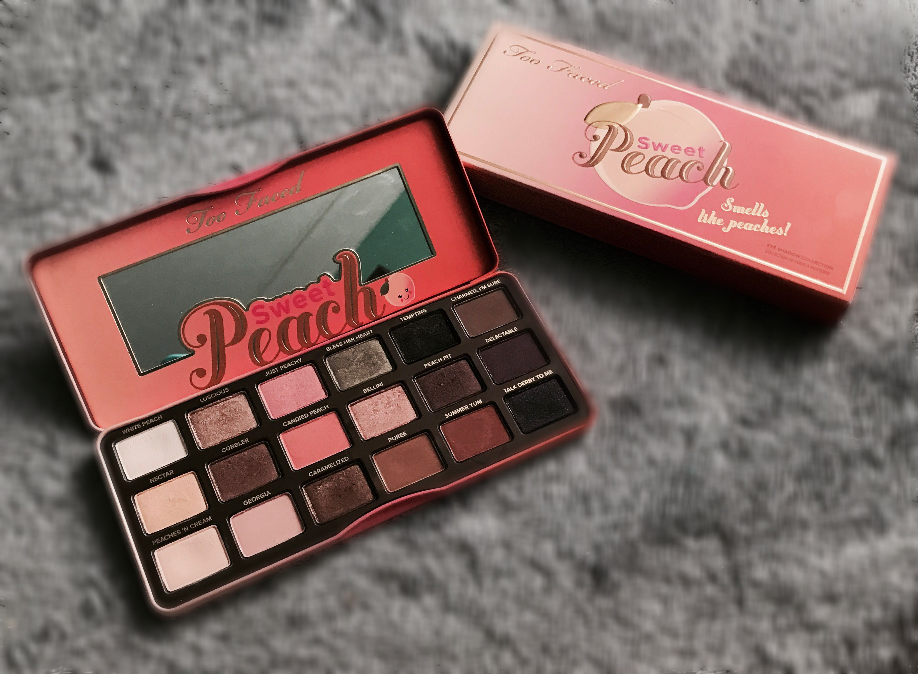 Too faced sweet peach pallet😍 Instagram extra_olivia