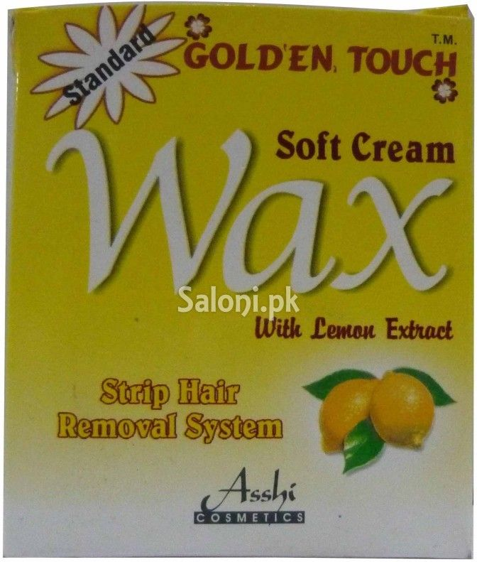 Golden Touch Soft Cream Wax With Lemon Extract 125 Grams Lemon