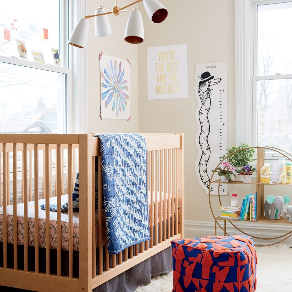 Pennywood Crib Bedding The Land of Nod Toddler room