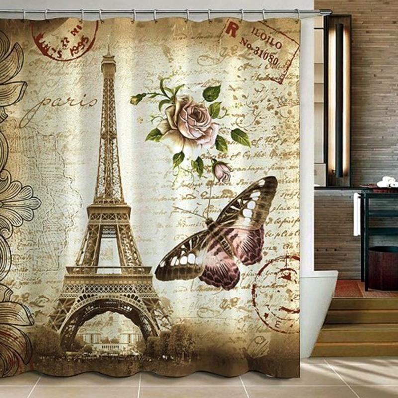 Paris themed Badezimmer Dekor Neueste Dekoration ideen 2019