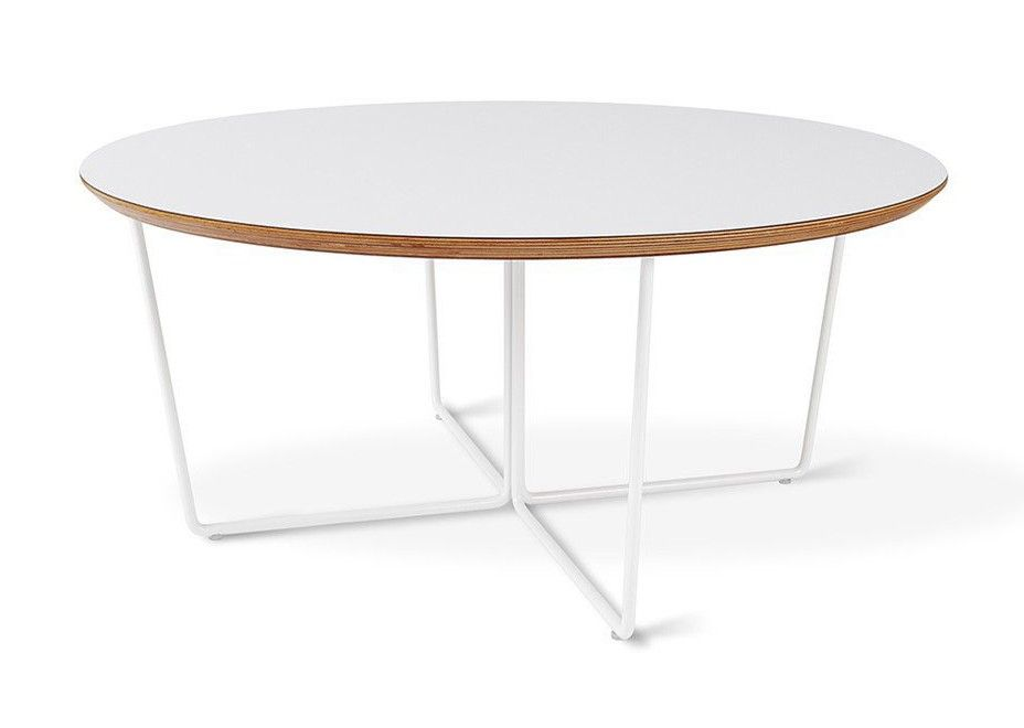 gus modern array coffee table round