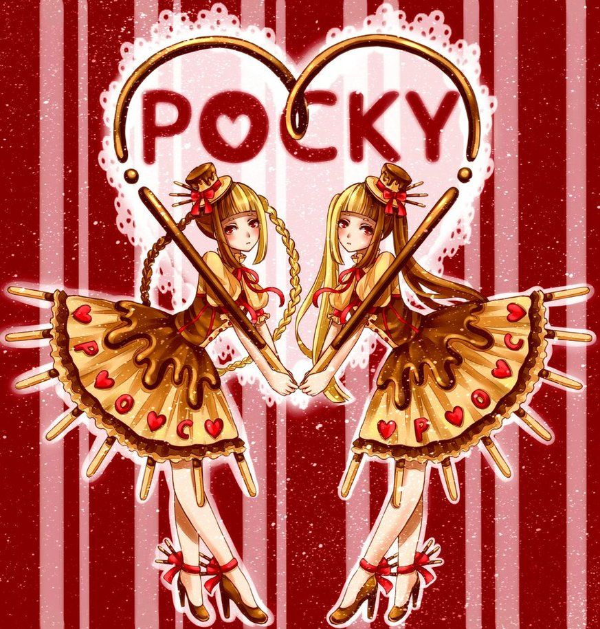 11.11 happy pocky day by *tandolcedeco on deviantART