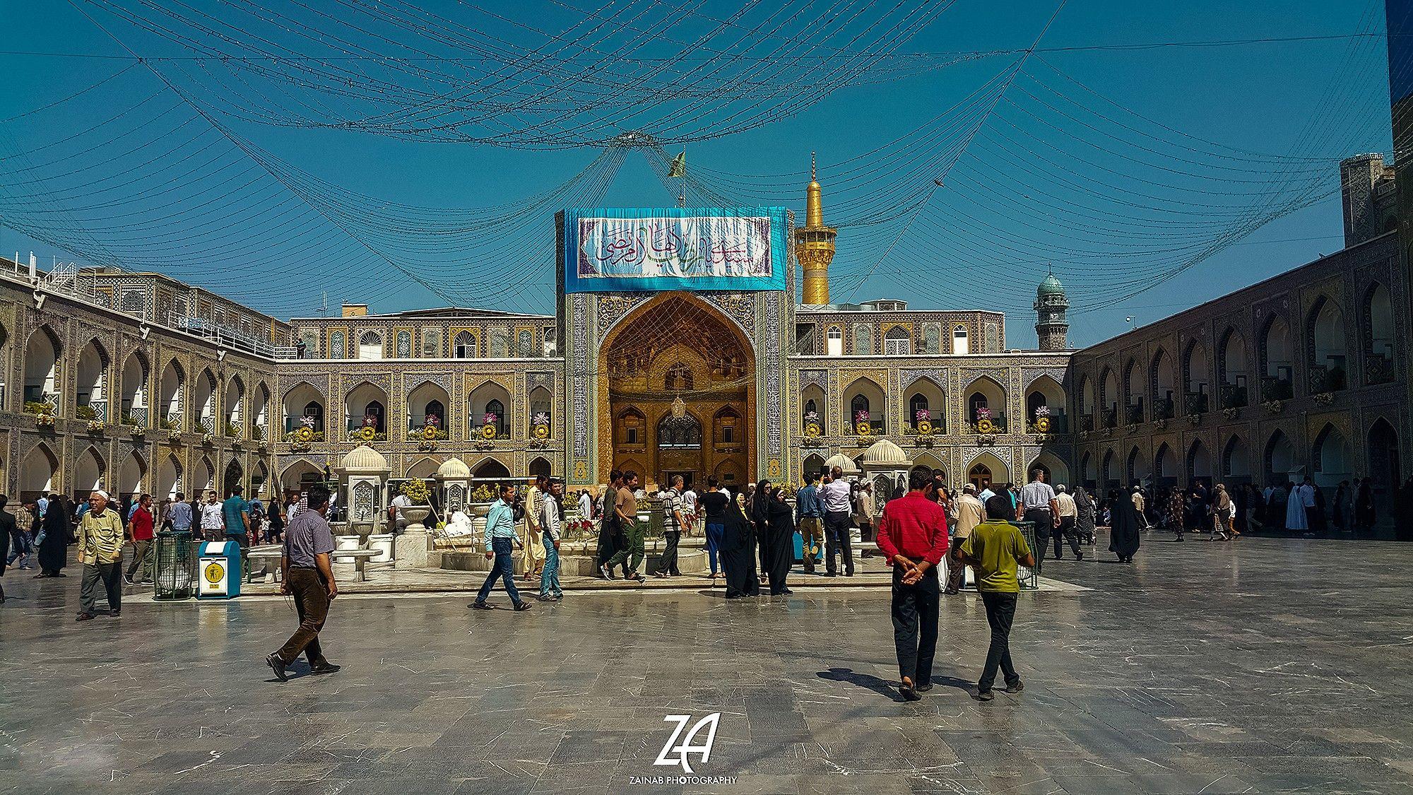 مرقد الإمام علي بن موسى الرضا عليه السلام مشهد إيران The Holy Shrine Of Imam Ali Alrida Mashhad Iran C Zainab Photography Photography Photo Landmarks