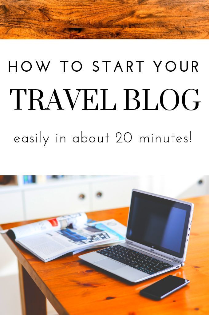 Why & *Exactly* How To Start A Travel Blog (With Images