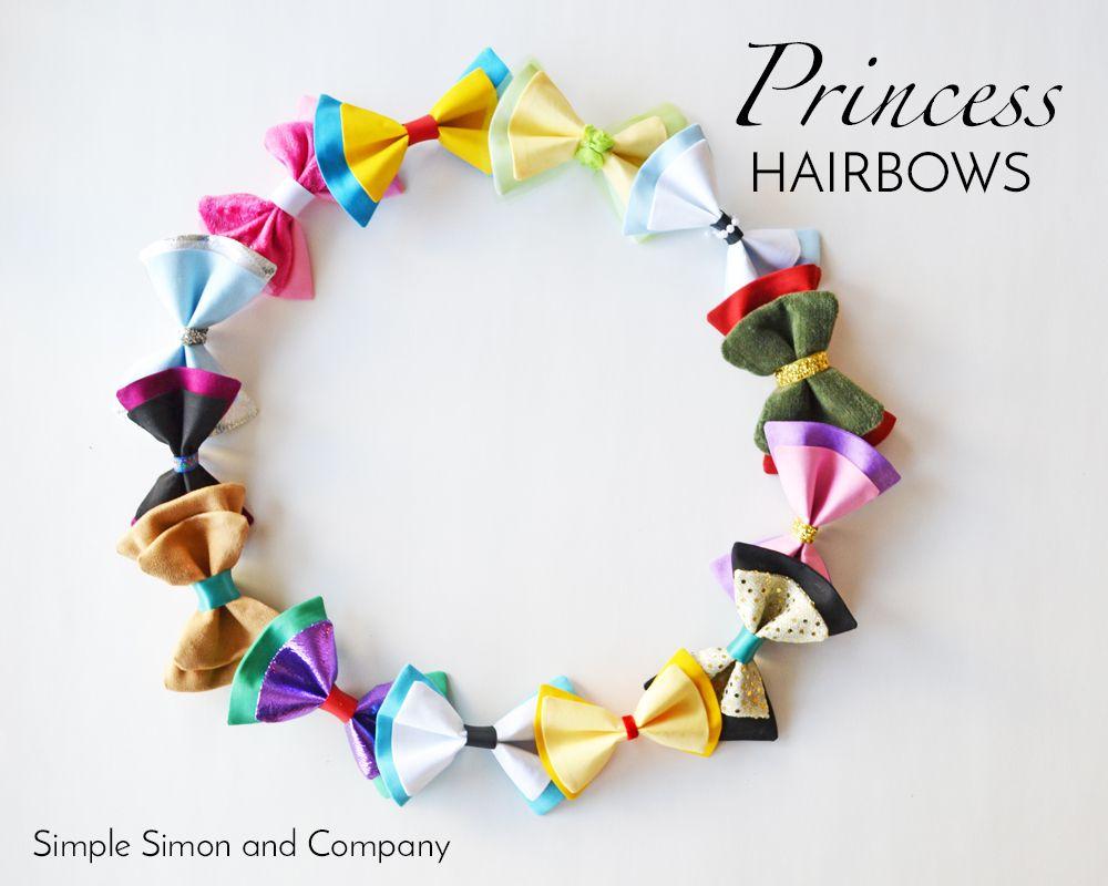 Disney princess and villian inspired hair bows hair bow disney princess and villian inspired hair bows baditri Image collections