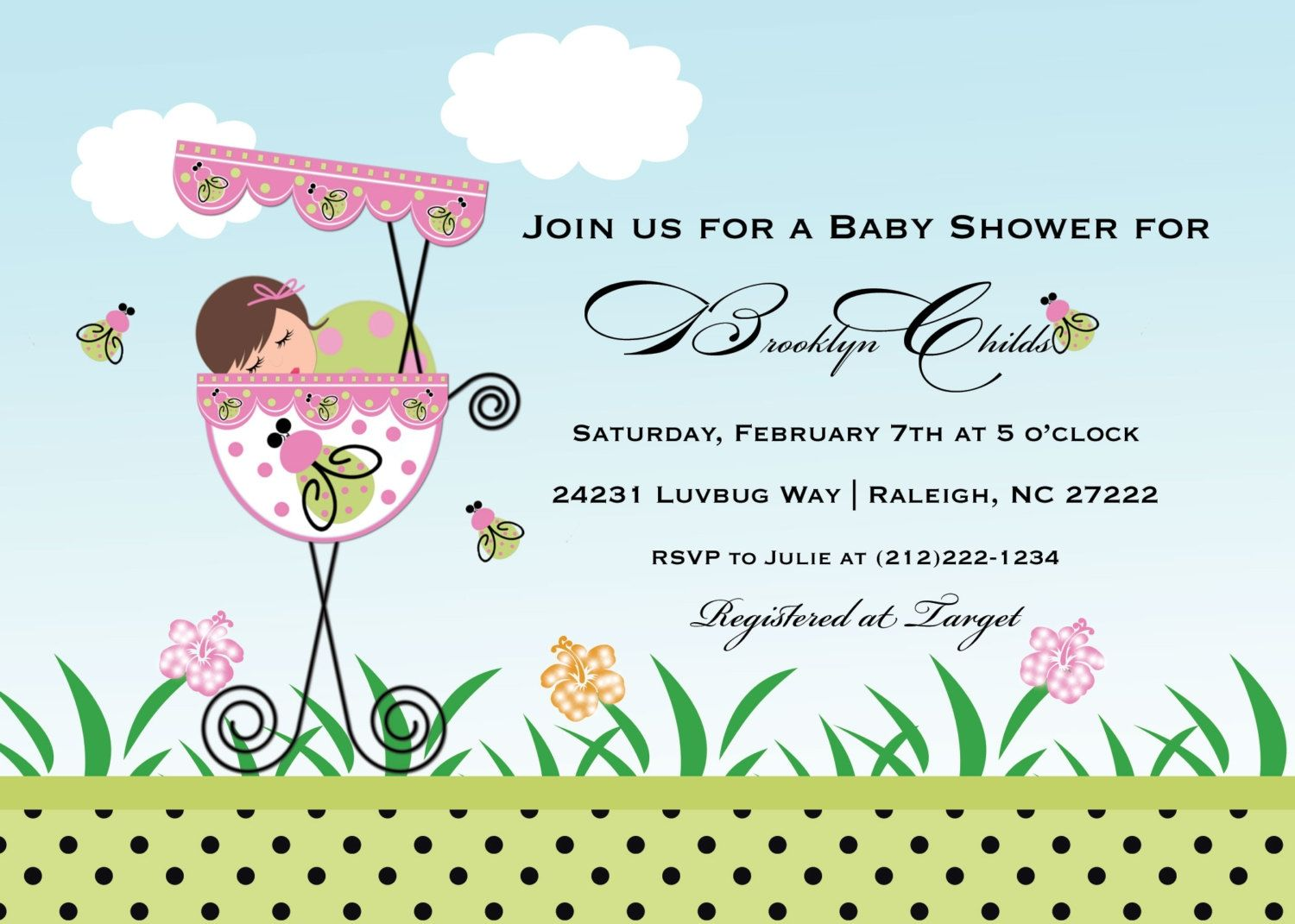 Editable Baby Shower Invitation Cards | http://atwebry.info ...