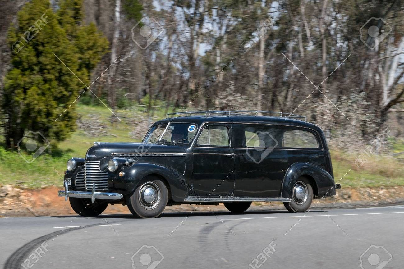 1940 Holdens Body Chevrolet Converted To A Hearse With Images
