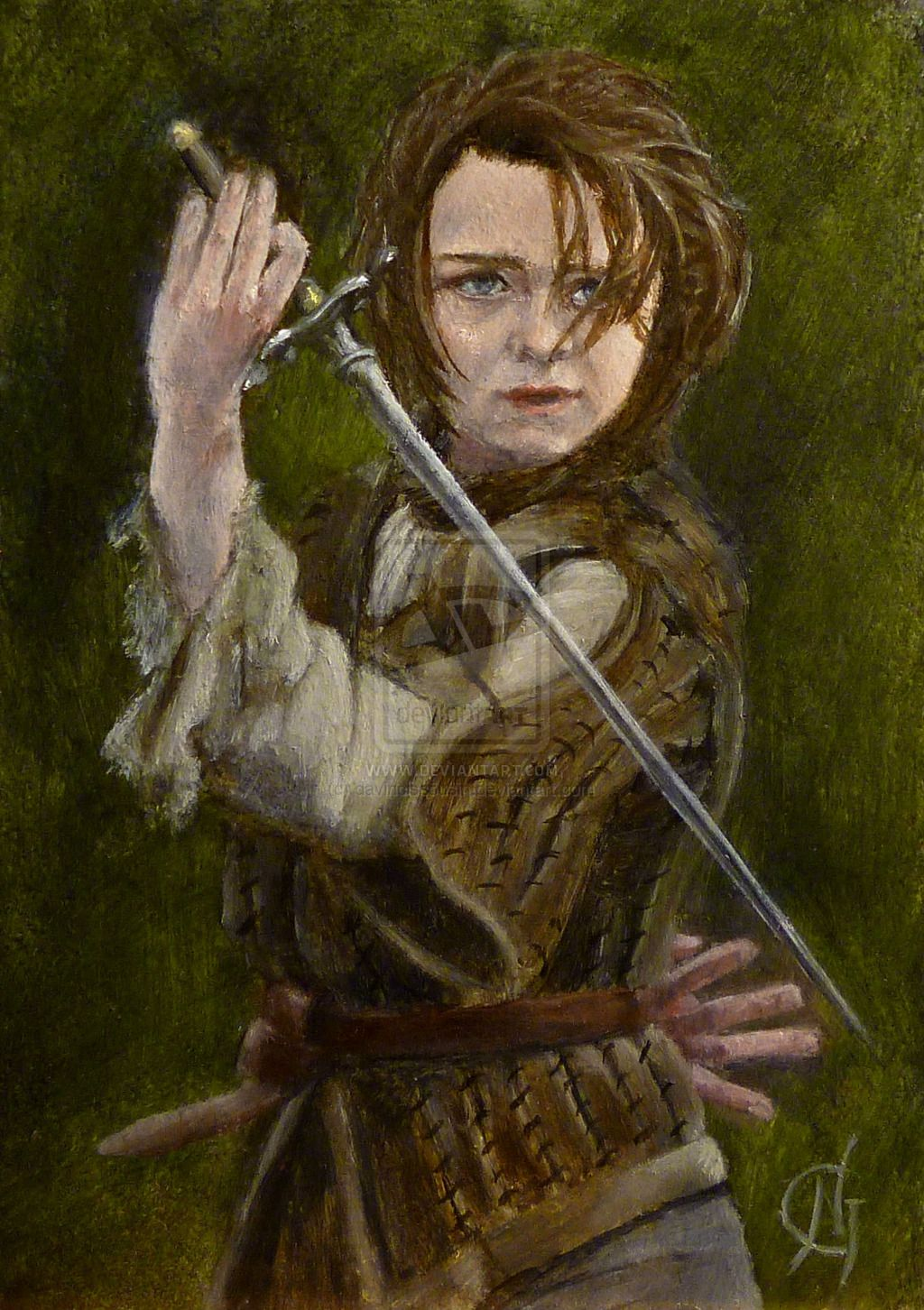 Arya Stark - Game of Thrones by davinciscousin.deviantart.com on @deviantART
