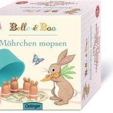 Spiel* Möhrchen mopsen mit Belle & Boo.