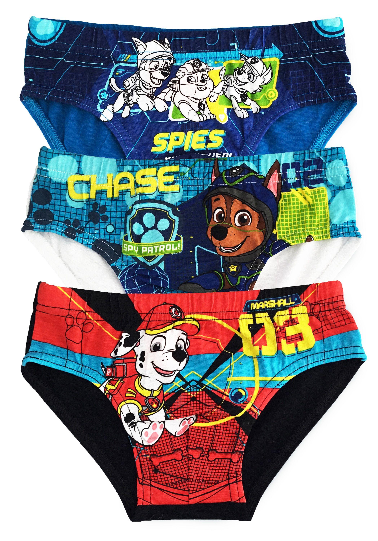 Kids Boys Official Paw Patrol Underwear Vests 3 Pack