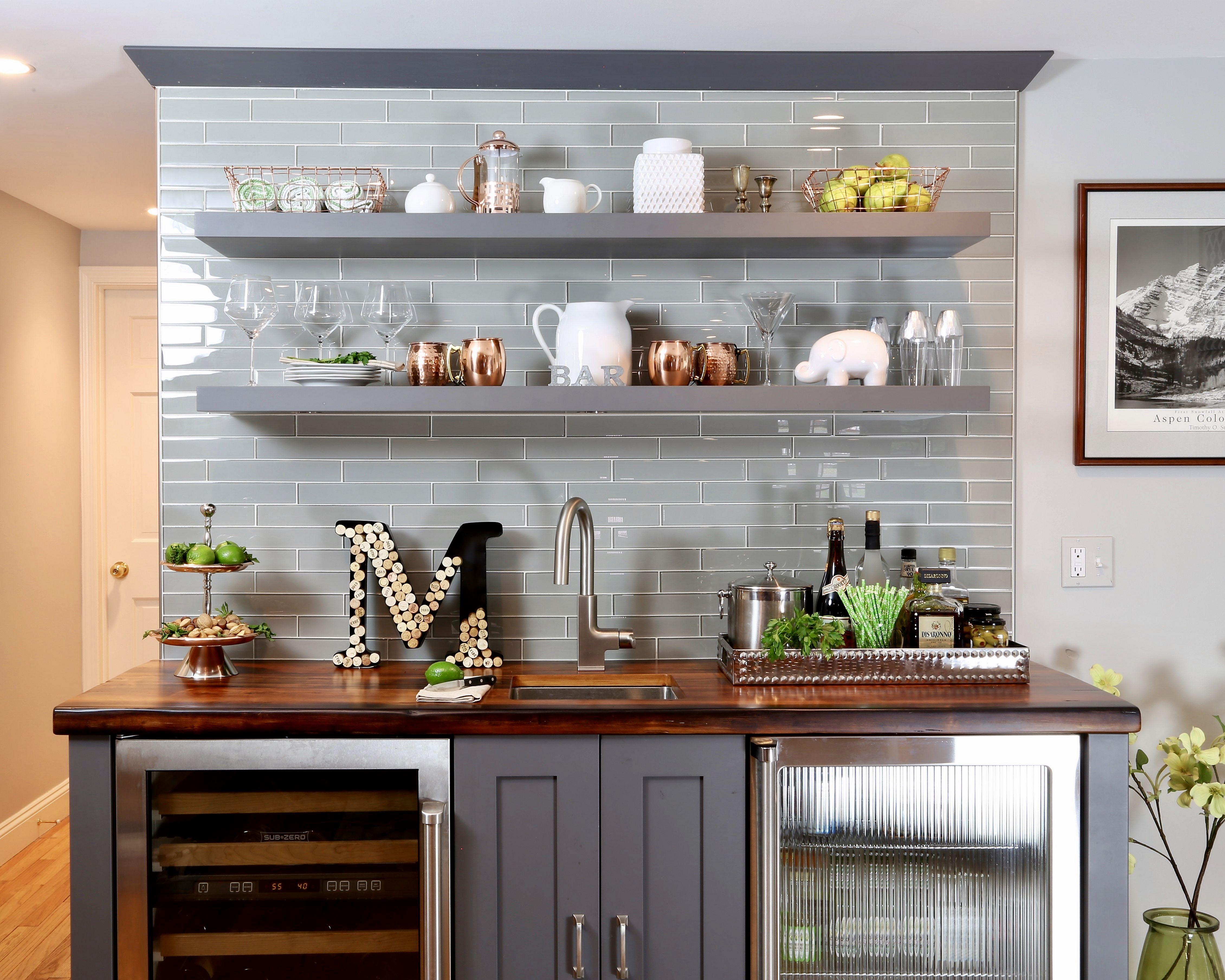 20 Inspiring Floating Kitchen Shelves Design And ...