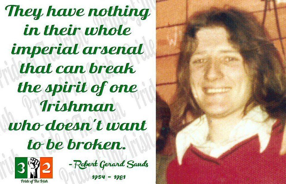 Bobby Sands Tiocfaidh Ar La~ | Greatness | Ireland tattoo ...