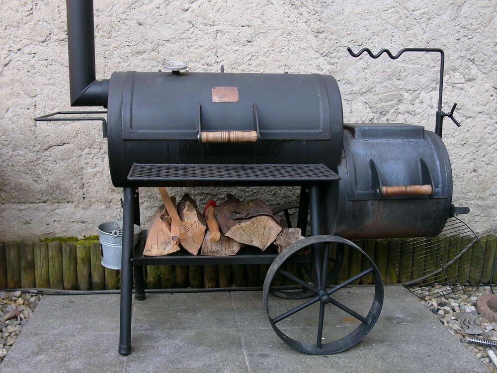 Oklahoma Wood Smoker Joe