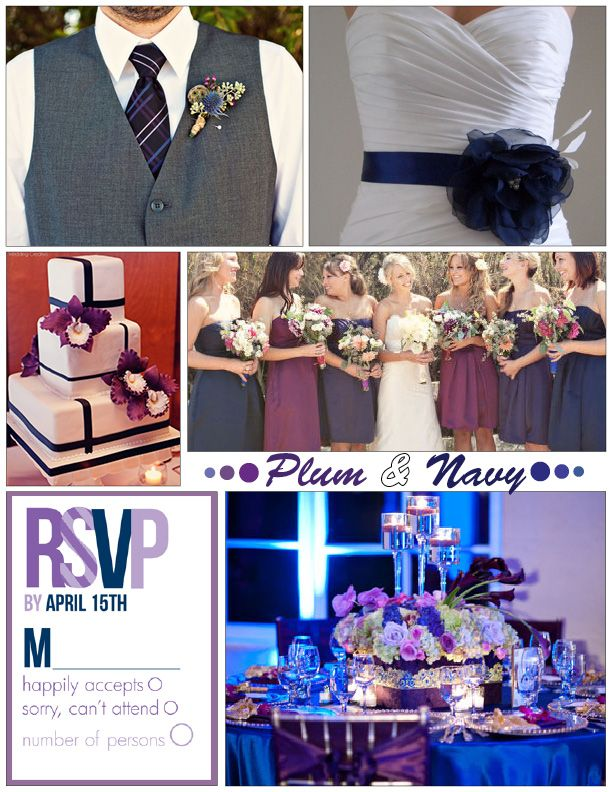 Plum Navy Wedding Http Www Mywvwedding Planners