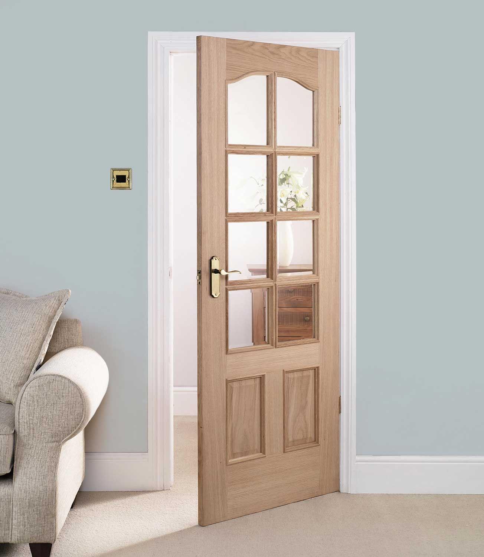 Glass Paneled Internal Doors Pinterest