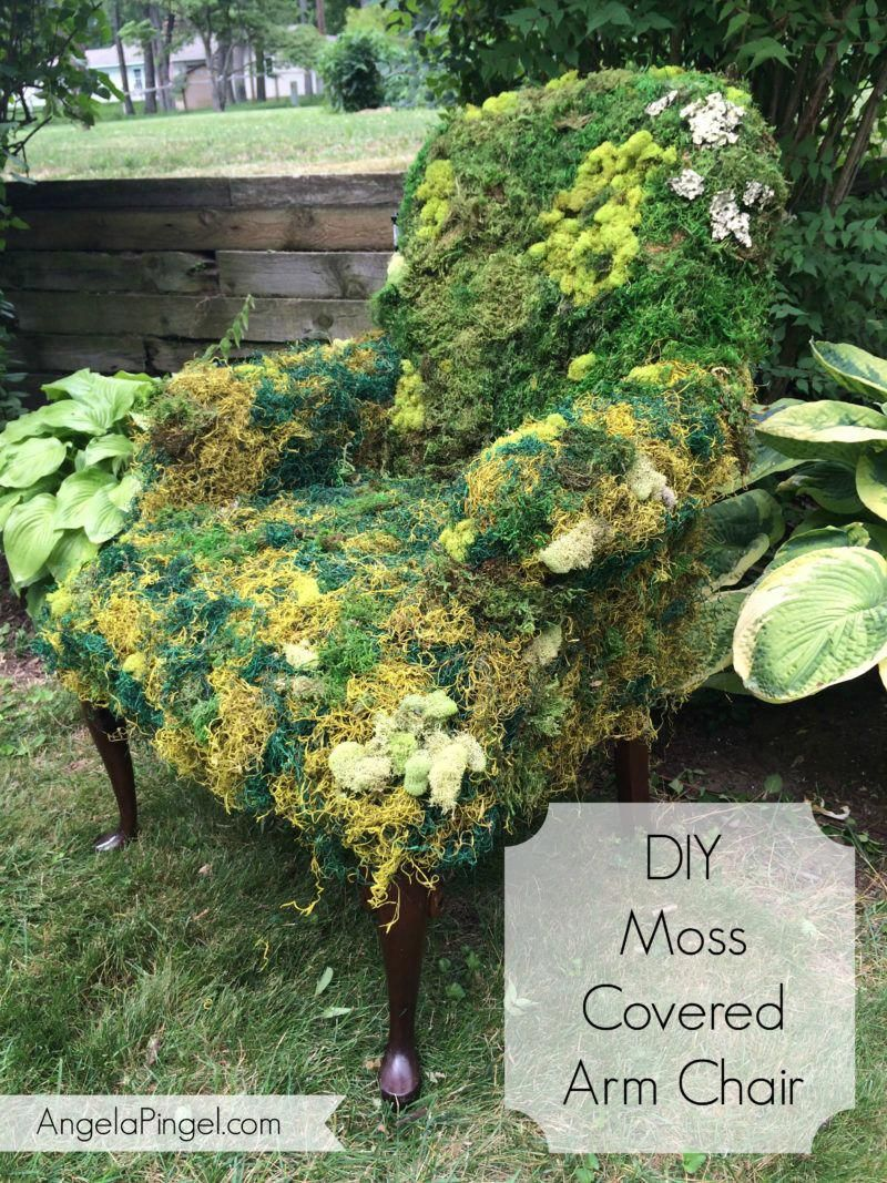 Phenomenal Diy Moss Covered Arm Chair Create Your Own Perfect Prop Creativecarmelina Interior Chair Design Creativecarmelinacom