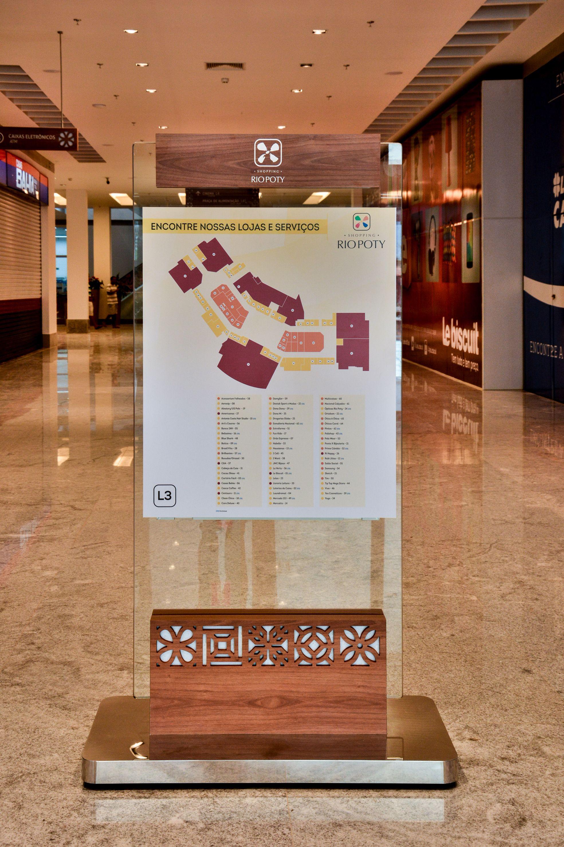 c41bb96c8291d  Wayfinding-  totensign - shoppingriopoty - Brazil brazilian design   design shopping  malls