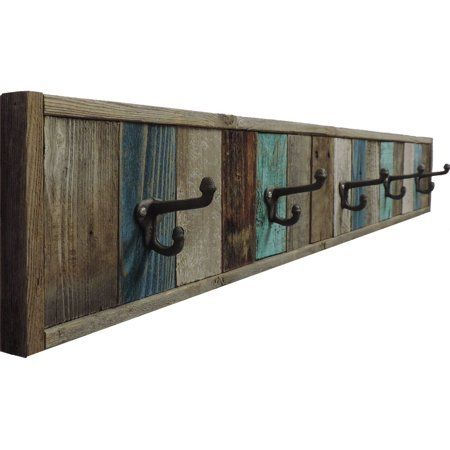 "Free Shipping. Buy AllBarnWood 46.5"" 5Hook Rustic"