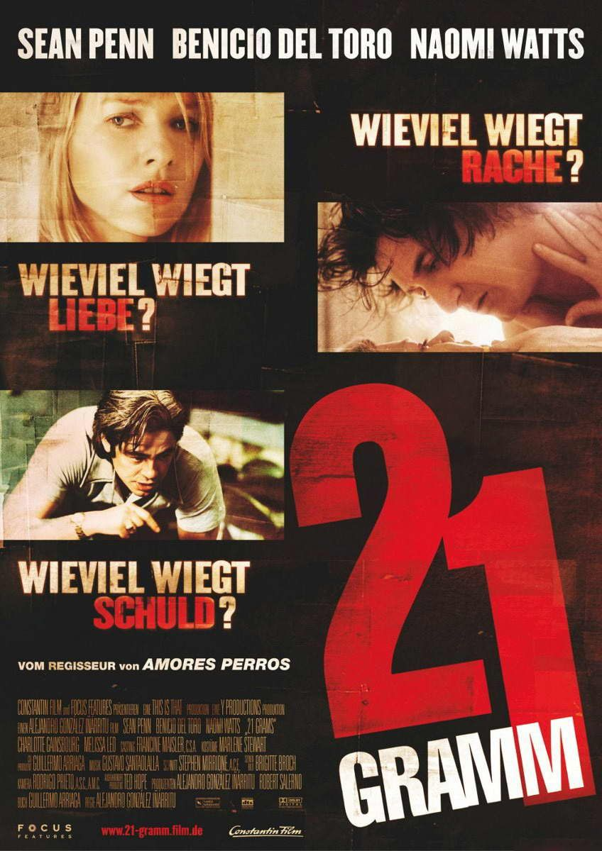 21 Grams Great Movie Came For Sean Penn Stayed For A Fantastic