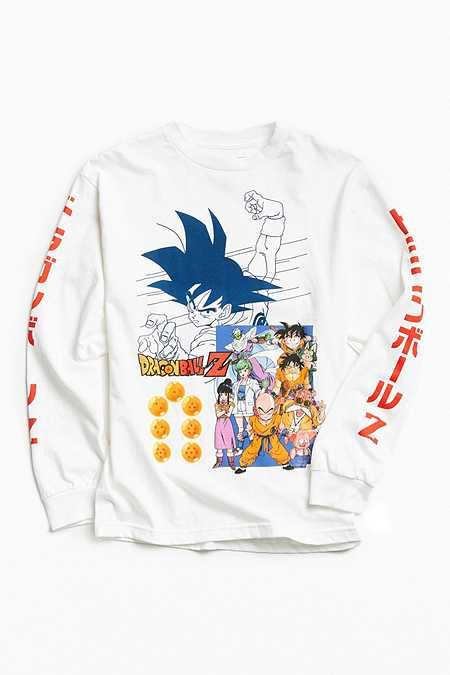bbbdf0a1 Dragon Ball Z Goku Long Sleeve Tee | if i had all the money in the ...
