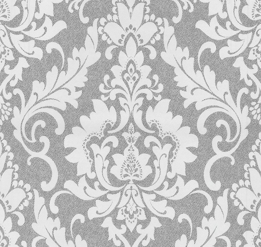 Attractive P+S Tapete Casual Chic 13351 20 L Vlies Ornamente Barock Struktur Weiß Grau