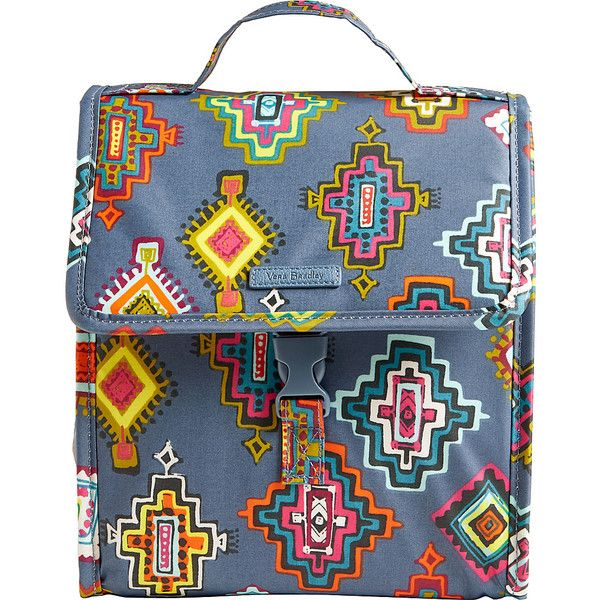 Vera Bradley Lunch Sack - Painted Medallions - Lunch Bags (34 CAD) ❤ liked  on Polyvore featuring home 06e9bc9bb8cb0