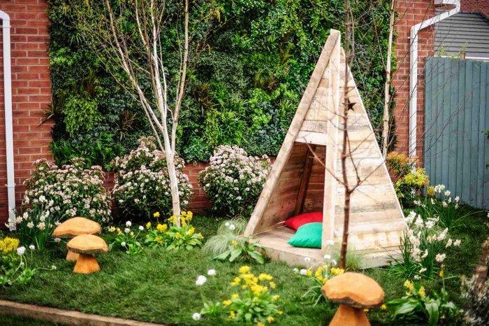 Build your kids a wooden teepee tent! & Build your kids a wooden teepee tent! | Teepee tent and Playhouses