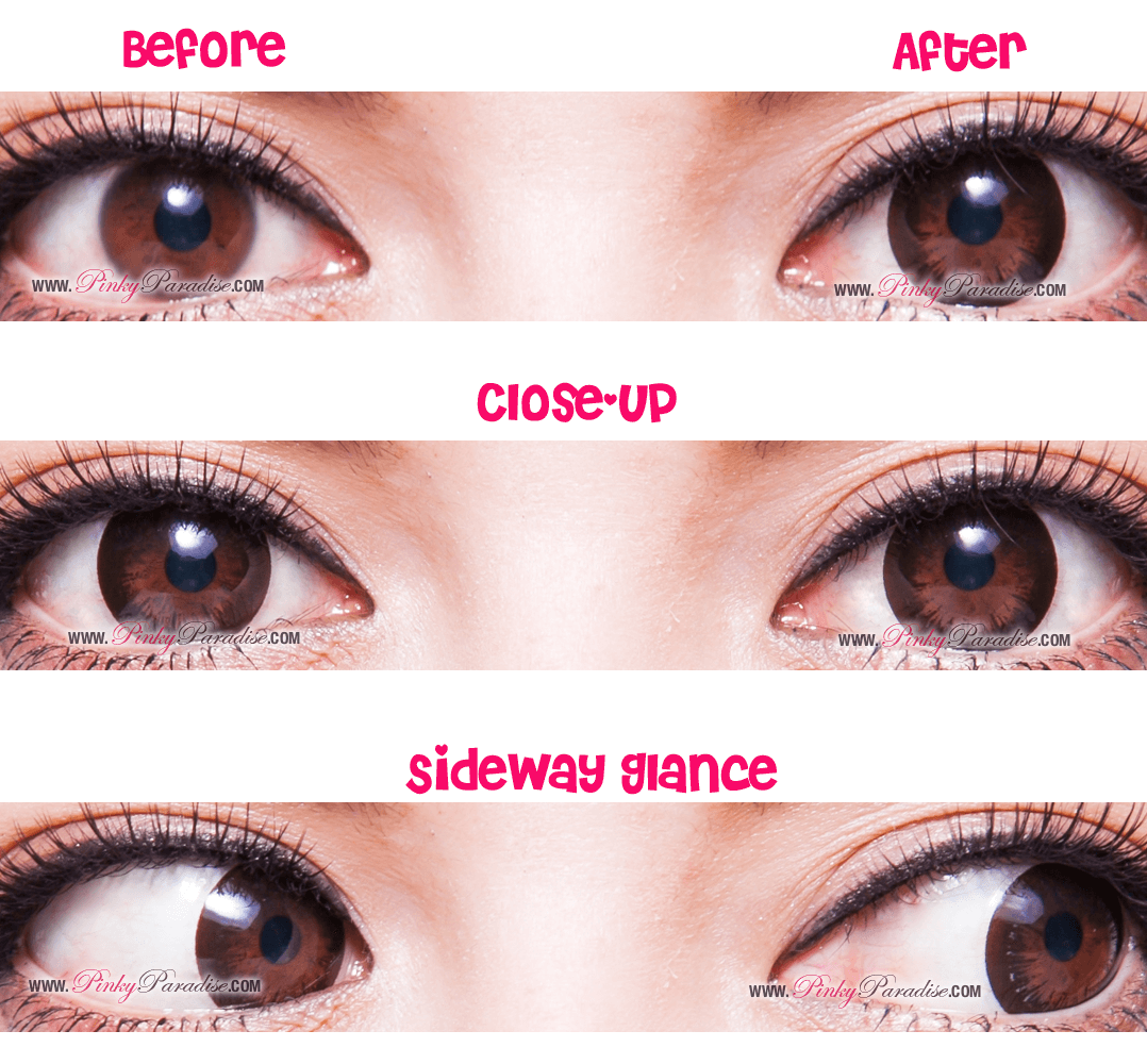 Max Gold Black Circle Lenses Colored Contacts Pinkyparadise Circle Lenses Colored Contacts Cosplay Contacts
