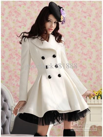 a cute trench coat ..just love it **