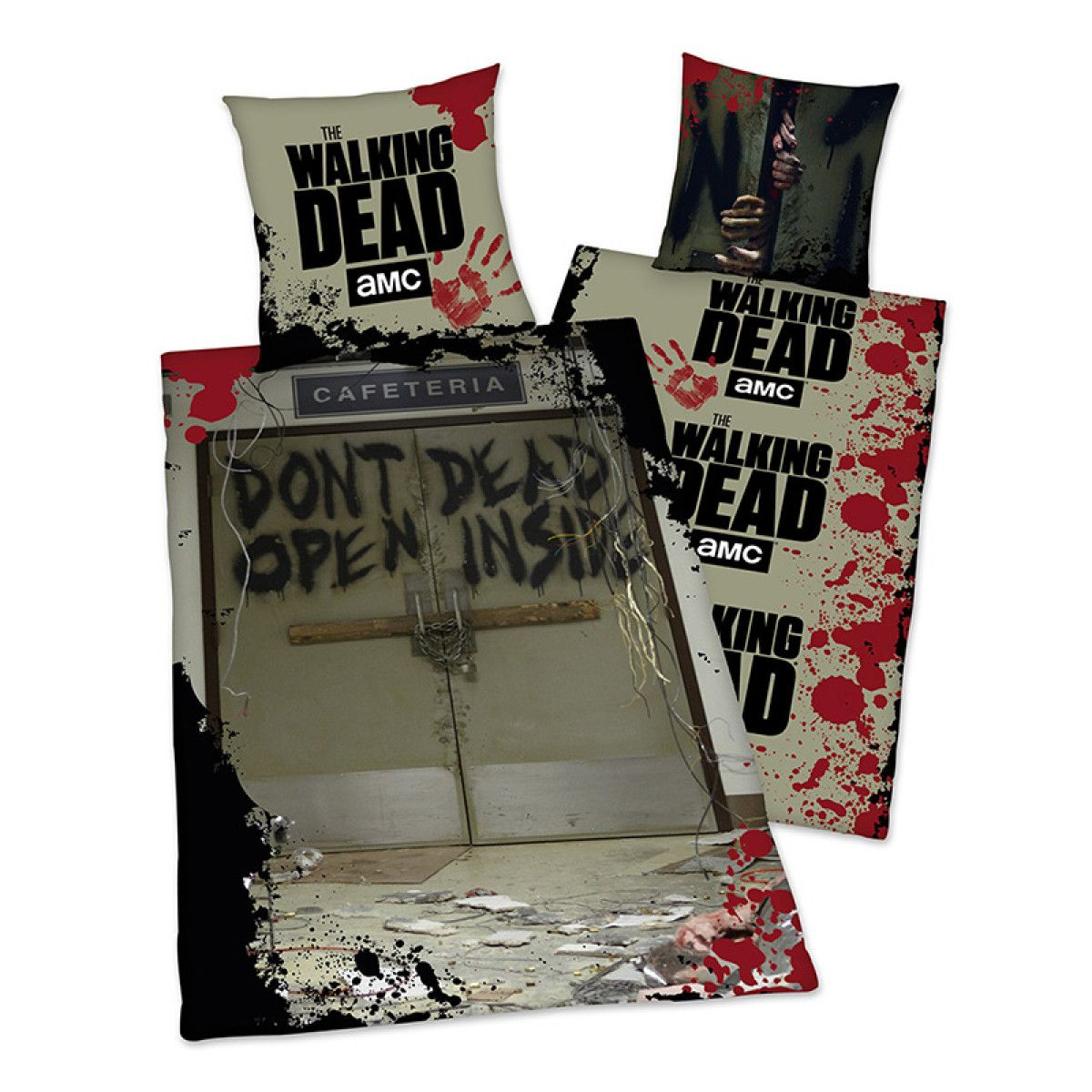 Breaking Bad Bettwäsche This Reversible The Walking Dead Don't Open Single Cotton Duvet Cover Set Features A Creepy Scene From The Serie… | The Walking Dead, Duvet Cover Sets, Duvet Covers