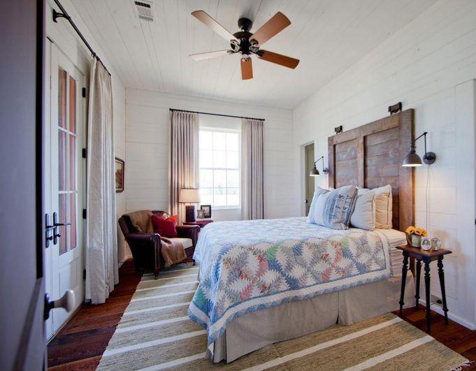 bedroom decor ceiling fan. Farmhouse Style Bedroom With Rustic Ceiling Fans | Decolover.net Decor Fan G