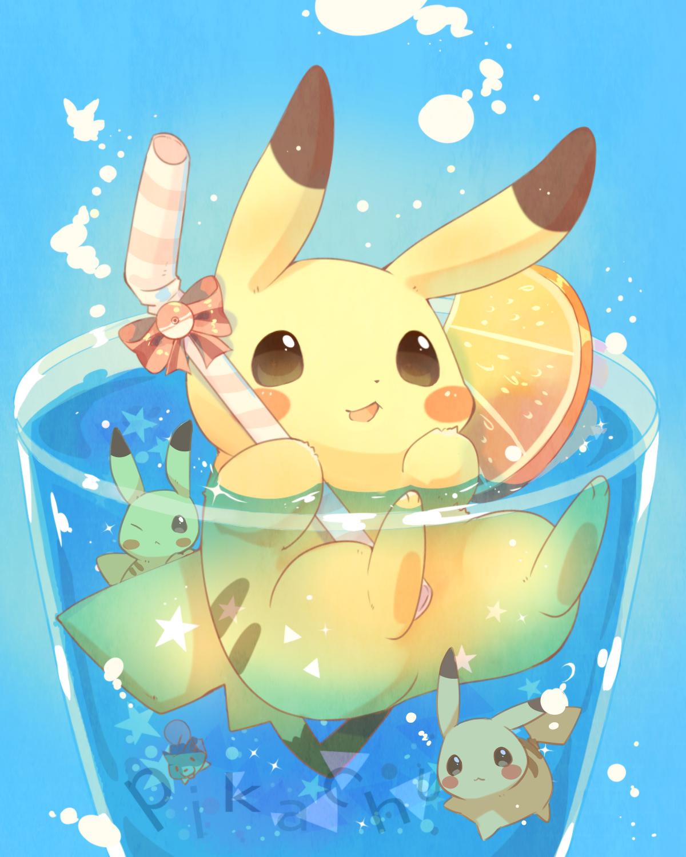 Pin By Xuanˆˆ On Kawai Things Á¤ Á¤ Pikachu Pikachu Chibi Cute Pokemon Wallpaper