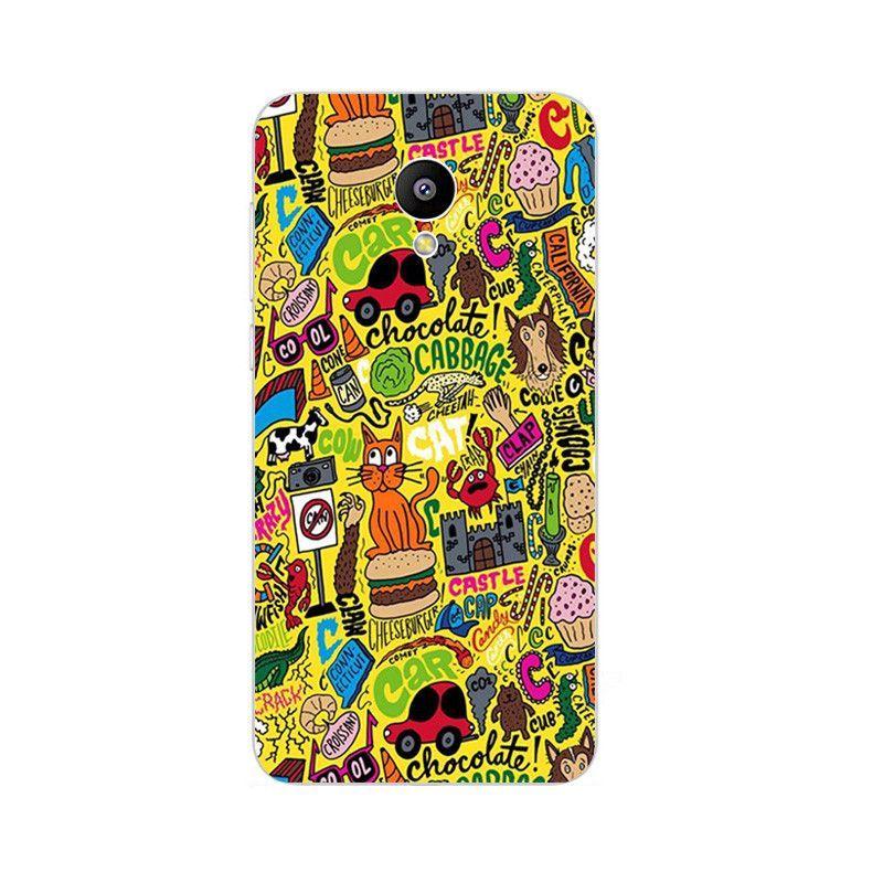 Phone Case For Meizu M1 M2 M3 Note M2 Mini M3 Mini MX4 Pro MX5 Shell Pro 5 6 Colorful Funny Design Painted Soft TPU Cover