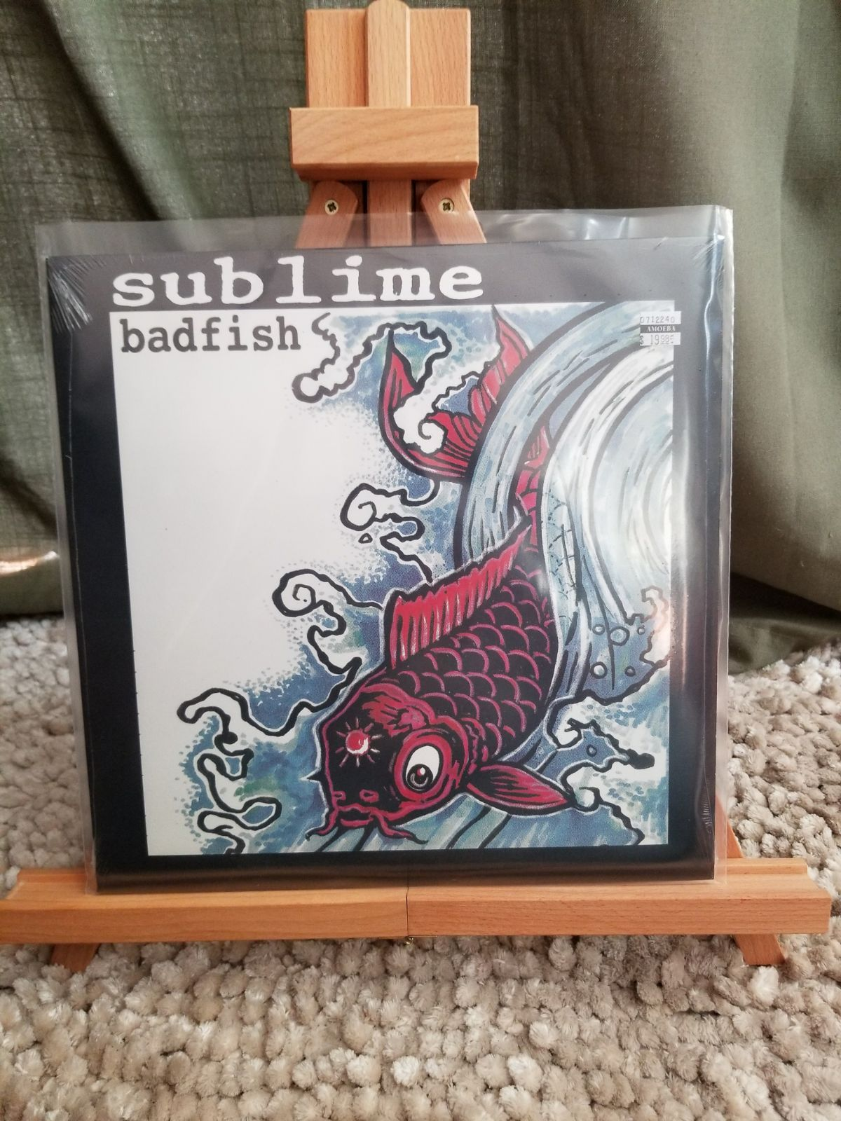 Sublime Badfish Skunk Records Vinyl 12 45 Rpm Ep Limited Edition I Would Also Like To Suggest That You Follow Us B Record Day Run The Jewels Vinyl Records