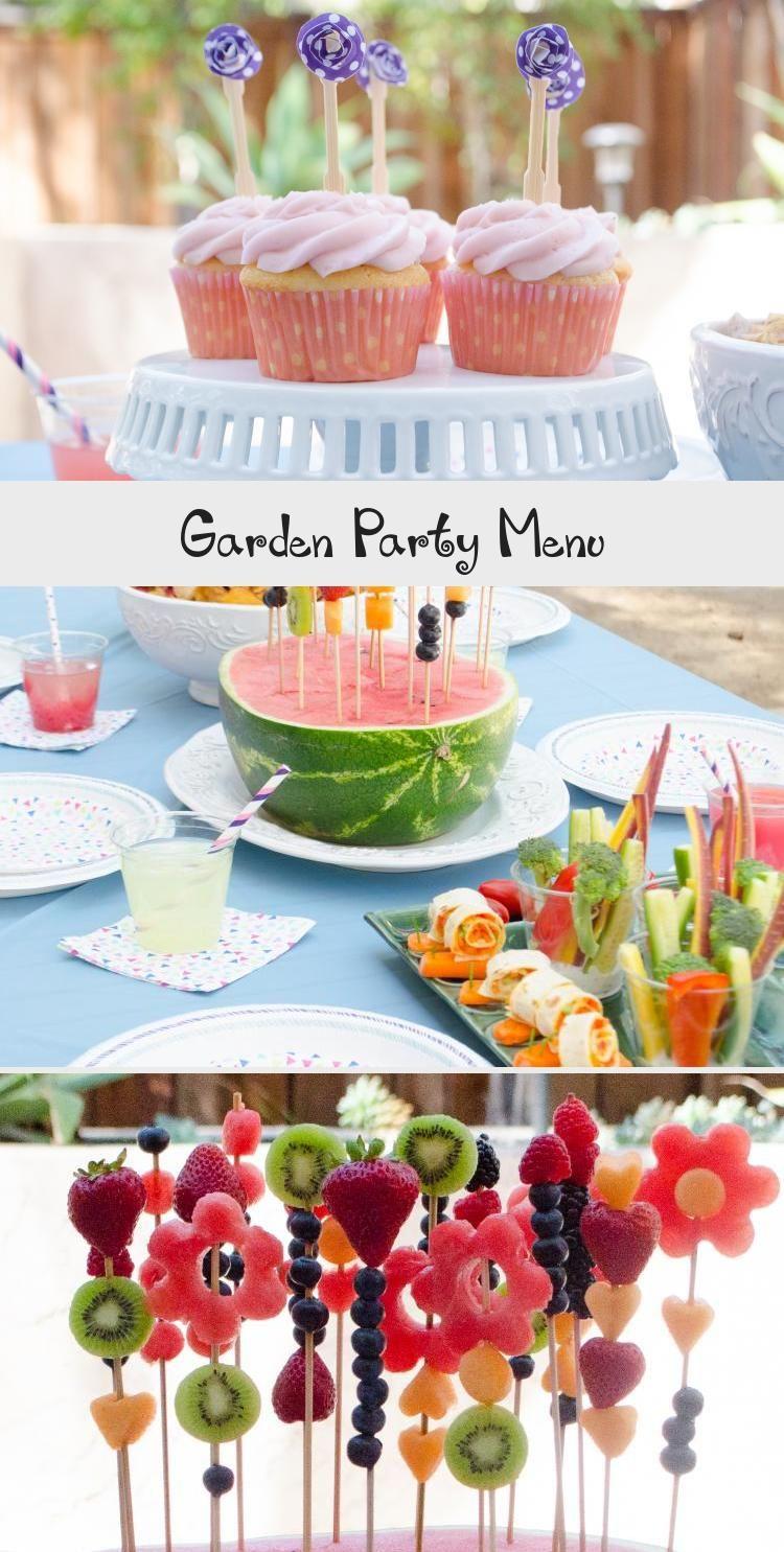 Garden Party Menu From Chefsarahelizabeth Com Gardenpartybbq