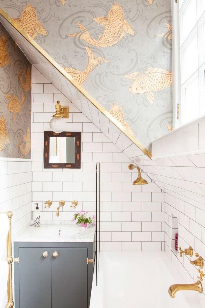 ▷ 1001 + designs impressionnants d\u0027une petite salle de bain moderne