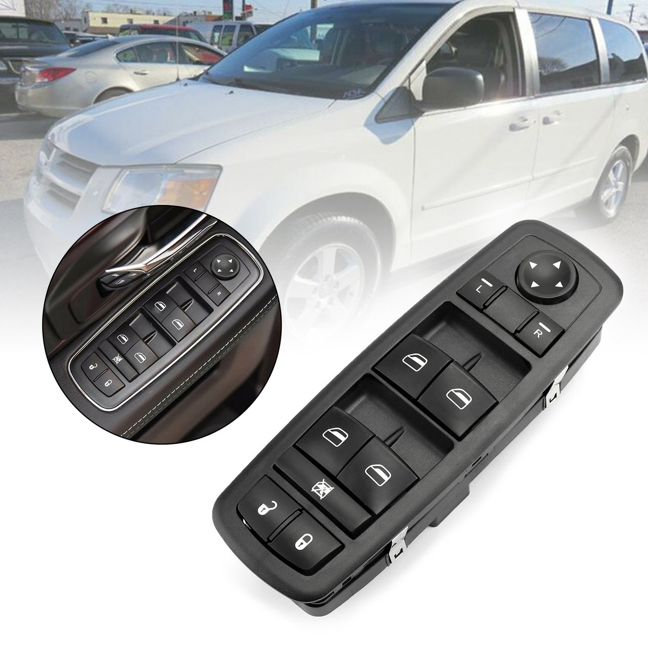 Master Power Window Switch For Dodge Grand Caravan 2008 09 2010